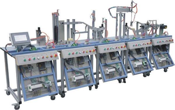 MPS模块式柔性自动化生产线实训系统(六站)