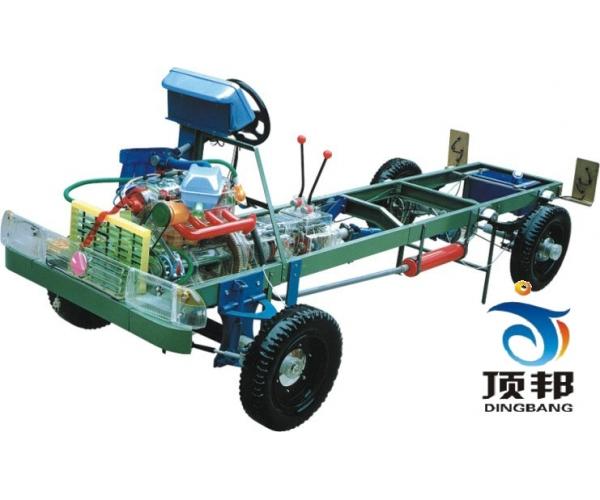猎豹CJY2470型透明整车模型